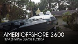 1995 American Offshore  2600 NSX