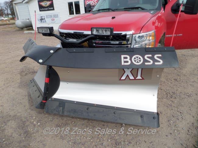 The Boss 9 2 Stainless Steel V Plow Sherburn Minnesota