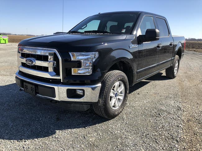 2016 FORD SUPERCREW F150